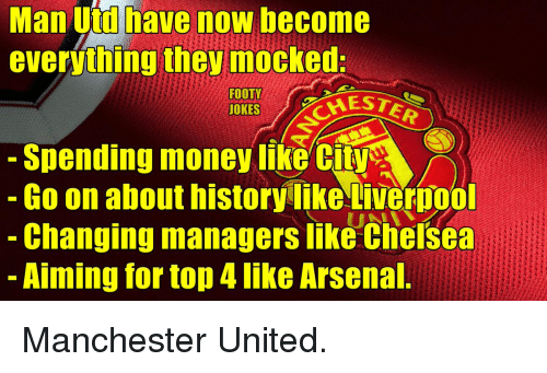 Manchester United Funny Meme : Funny manchester united memes of on sizzle arsenal
