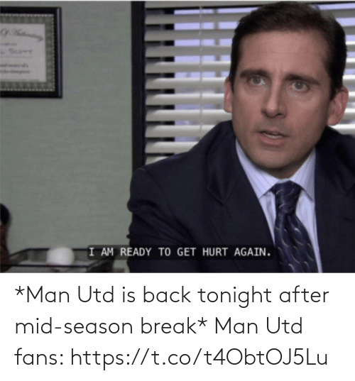 man utd: *Man Utd is back tonight after mid-season break*  Man Utd fans: https://t.co/t4ObtOJ5Lu