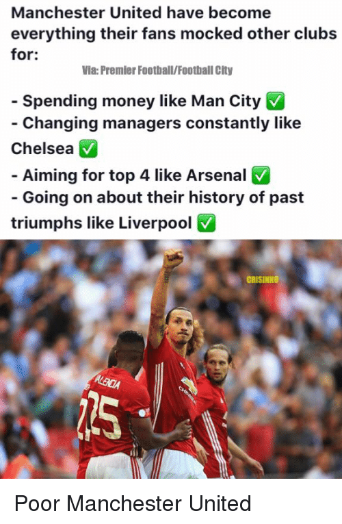 Funny Manchester United Memes of 2016 on SIZZLE | Arsenal