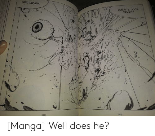 Manga: [Manga] Well does he?