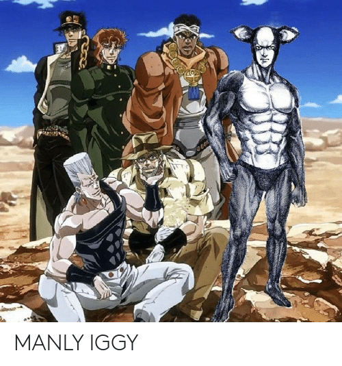 manly: MANLY IGGY