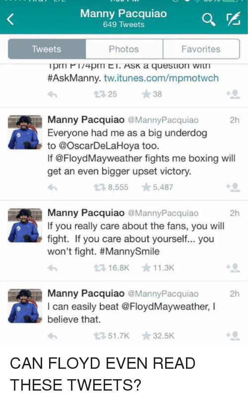 Twitter reactions to Floyd Mayweather's win over Manny ...