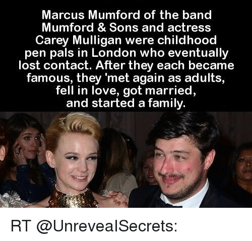 mumford and sons dating actress An actress, who previously dated  the pair have only been dating for five months after meeting when mumford & sons performed in nashville, tennessee.