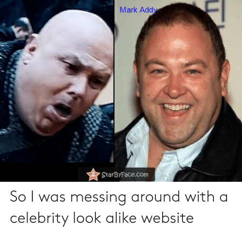 mark addy: Mark Addy  StarByFace.com So I was messing around with a celebrity look alike website