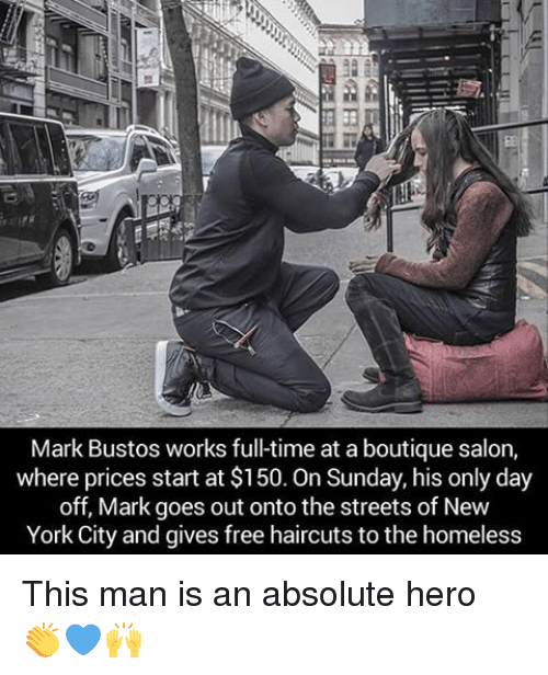 haircuts for the homeless new york city hair stylist 25