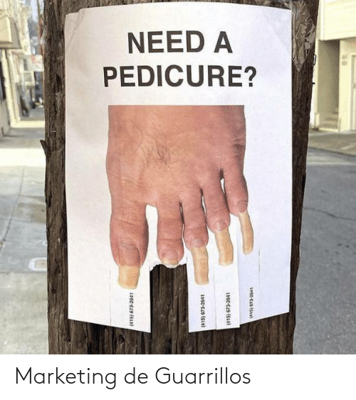 marketing: Marketing de Guarrillos