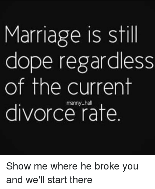 Marriage Is Dope