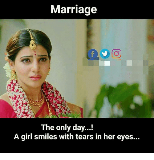 marriage to the only day a girl smiles with tears 27682482 marriage to the only day! a girl smiles with tears in her eyes,Marriage Meme For Her