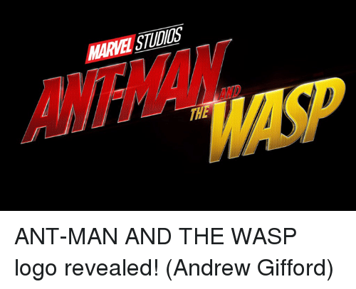 the wasp: MARVEI STUDIGs ANT-MAN AND THE WASP logo revealed!  (Andrew Gifford)