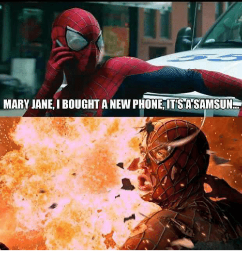 Memes, 🤖, and Marie: MARY JANE,I BOUGHT ANEWPHONE, ITS ANSAMSUN