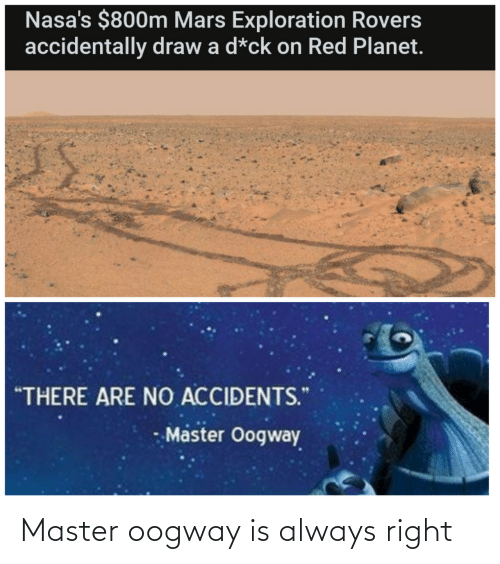 Always Right: Master oogway is always right