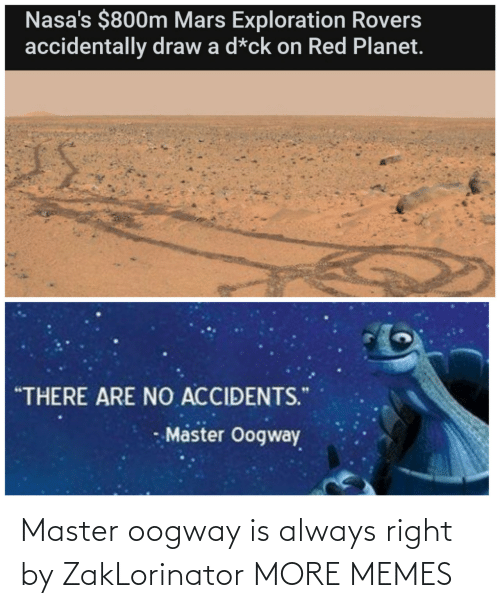 Always Right: Master oogway is always right by ZakLorinator MORE MEMES