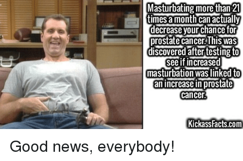 Masturbation and cancer