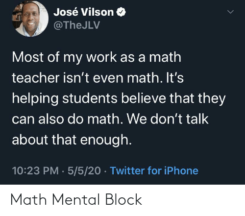 block: Math Mental Block
