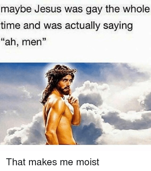 jesus was gay
