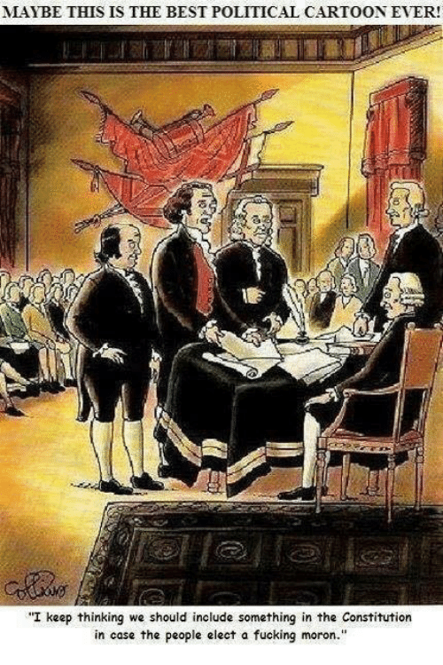 Memes, Cartoon, and Cartoons: MAYBE THIS IS THE BEST POLITICAL CARTOON EVER!