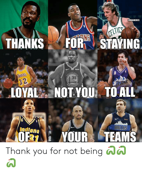 arr: @MBAMEMES  THANKSFORTSTAYING  35  ARR  LOYAL NOT YOU TO ALL  Indiana  0% : YOUR TEAMS Thank you for not being 🐍🐍🐍