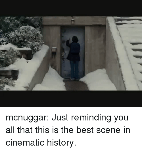 the best scene: mcnuggar: Just reminding you all that this is the best scene in cinematic history.