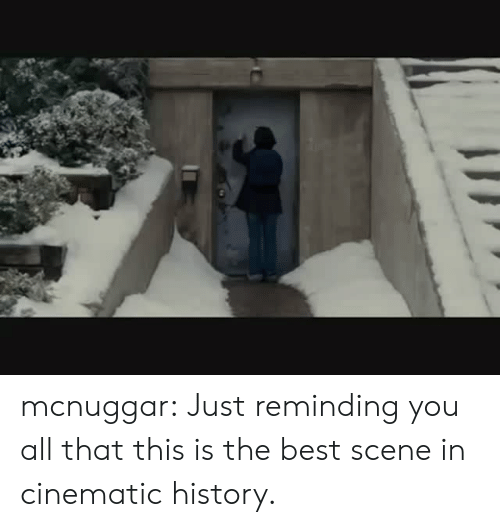 Cinematic: mcnuggar:  Just reminding you all that this is the best scene in cinematic history.