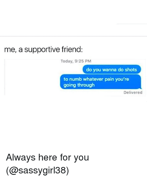 Supportive Friends