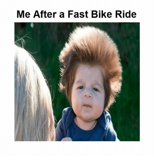 Bike riding: Me After a Fast Bike Ride