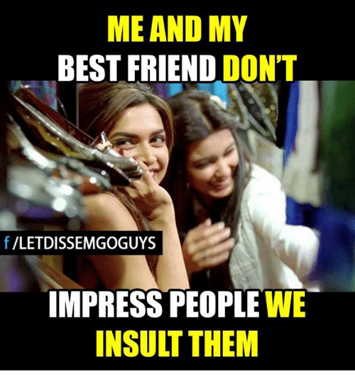 Insulting Pictures For Friends