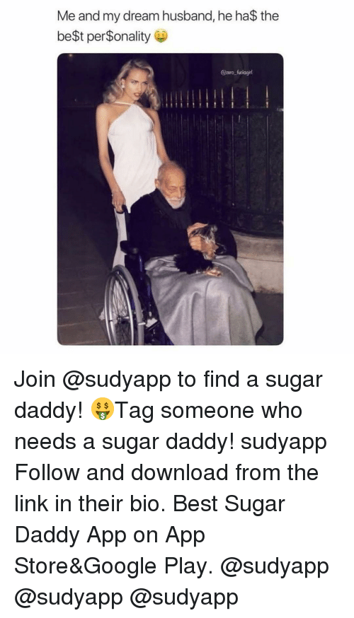 A Sugar Daddy: Me and my dream husband, he ha$ the  be$t per$onality  @pero fucksgirl Join @sudyapp to find a sugar daddy! 🤑Tag someone who needs a sugar daddy! sudyapp Follow and download from the link in their bio. Best Sugar Daddy App on App Store&Google Play. @sudyapp @sudyapp @sudyapp