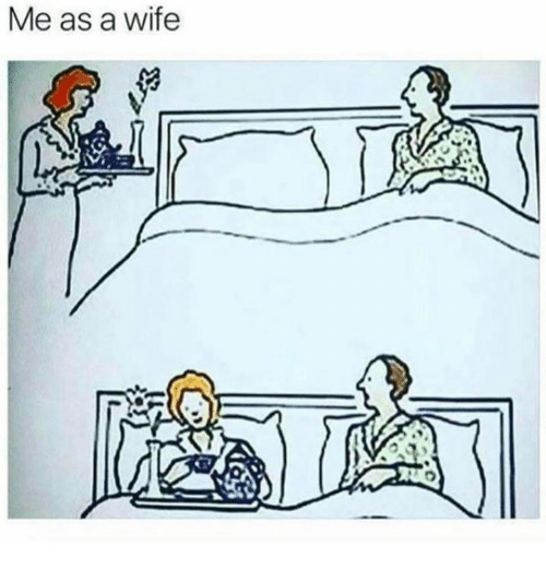 Relationships, Wife, and Me as a Wife: Me as a wife
