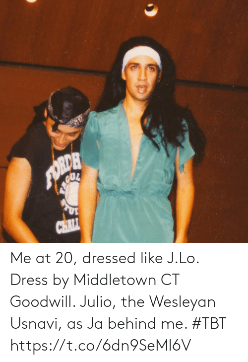 Dress: Me at 20, dressed like J.Lo. Dress by Middletown CT Goodwill. Julio, the Wesleyan Usnavi, as Ja behind me. #TBT https://t.co/6dn9SeMl6V