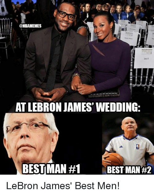 Nba, Best Man, and Men: ME  AT LEBRON JAMES WEDDING:  BEST MAN #1  BEST MAN LeBron James' Best Men!