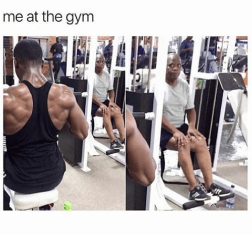 Gym, The Gym, and The: me at the gym