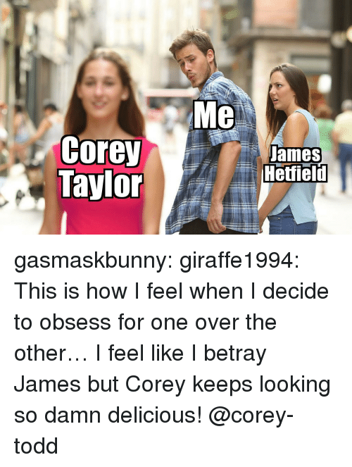 how i feel when: Me  Corey teield  ames gasmaskbunny: giraffe1994:  This is how I feel when I decide to obsess for one over the other… I feel like I betray James but Corey keeps looking so damn delicious!  @corey-todd