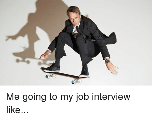 going for job interview