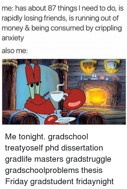 Phd thesis anxiety