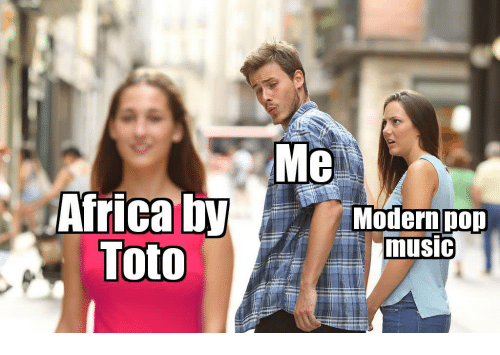 Music and Toto: Me  Modernpop  music  Toto