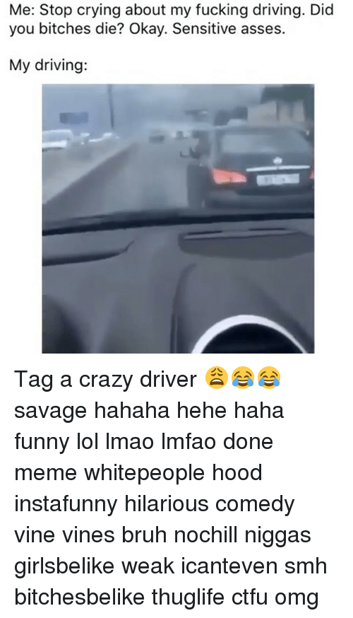 me stop crying about my fucking driving did you bitches 10269927 that one friend who drives crazy we all have that one friend