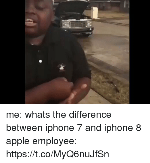 Difference Between Iphone  And