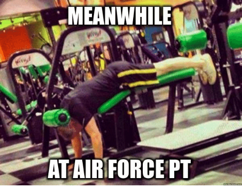 Air Force, Military, and Air: MEANWHILE  AT AIR FORCE PT