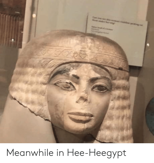 meanwhile in: Meanwhile in Hee-Heegypt
