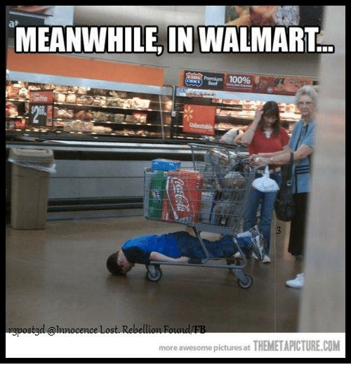 Meanwhile In Walmart: MEANWHILE, IN WALMART  more awesome pictures at THEMETAPICTURE.COM