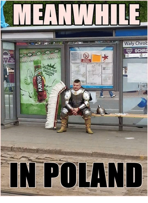 meanwhile waly chrob in poland 3841392 meanwhile waly chrob in poland poland meme on sizzle