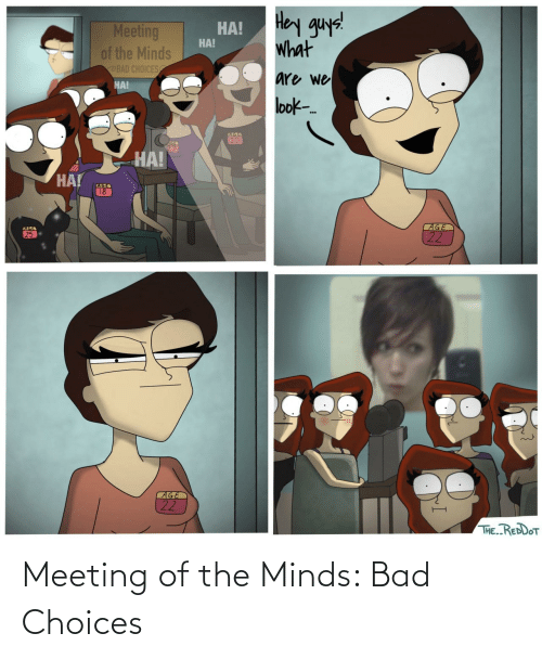Minds: Meeting of the Minds: Bad Choices