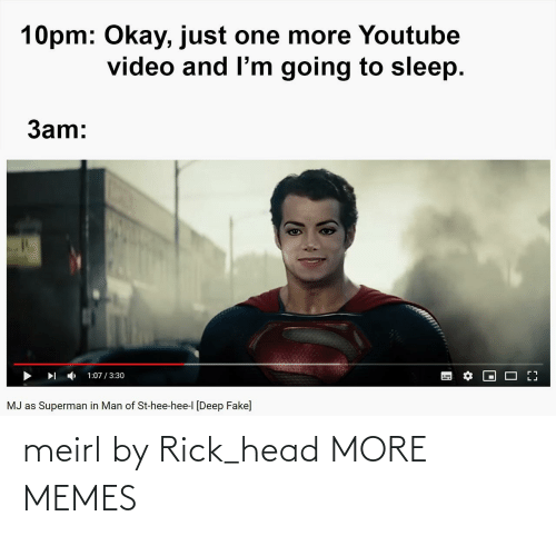 rick: meirl by Rick_head MORE MEMES