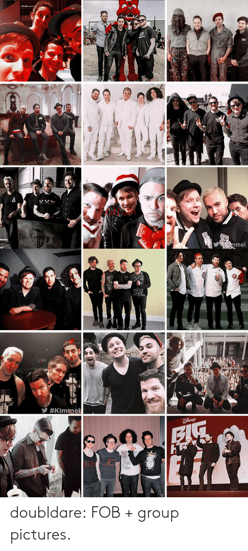 fob: mel   y doubldare: FOB + group pictures.
