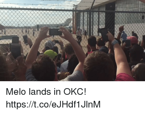 Memes, 🤖, and Melo: Melo lands in OKC!  https://t.co/eJHdf1JlnM