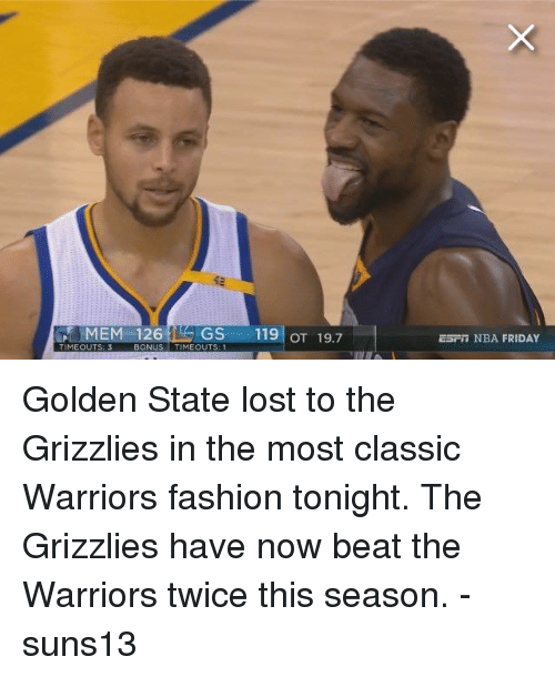 Golden State Lost