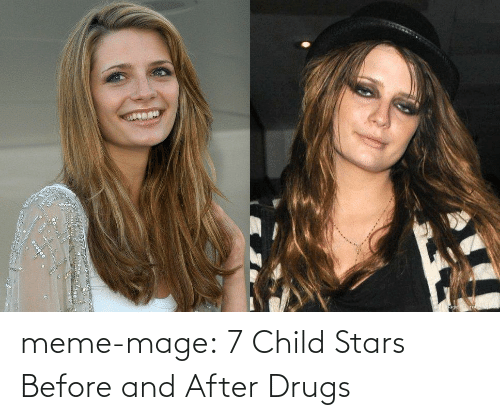 meme: meme-mage:  7 Child Stars Before and After Drugs