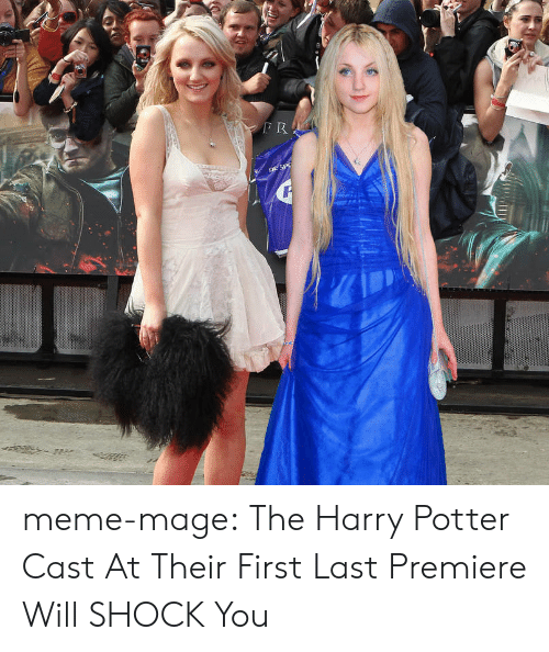 meme: meme-mage:  The Harry Potter Cast At Their First  Last Premiere Will SHOCK You