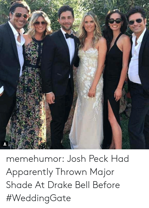 Josh Peck: memehumor:  Josh Peck Had Apparently Thrown Major Shade At Drake Bell Before #WeddingGate