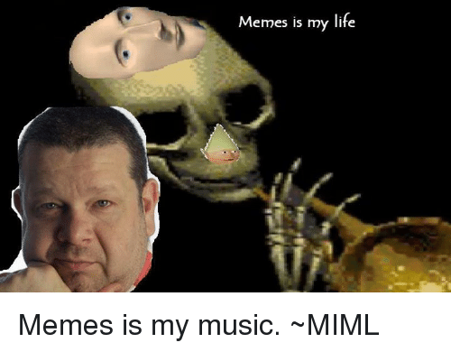 Life, Meme, and Memes: Memes is my life Memes is my music.  ~MIML